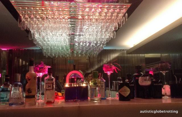 The Family friendly Sheraton Lisbon Portugal top bar