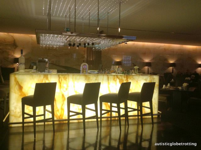The Family friendly Sheraton Lisbon Portugal bar