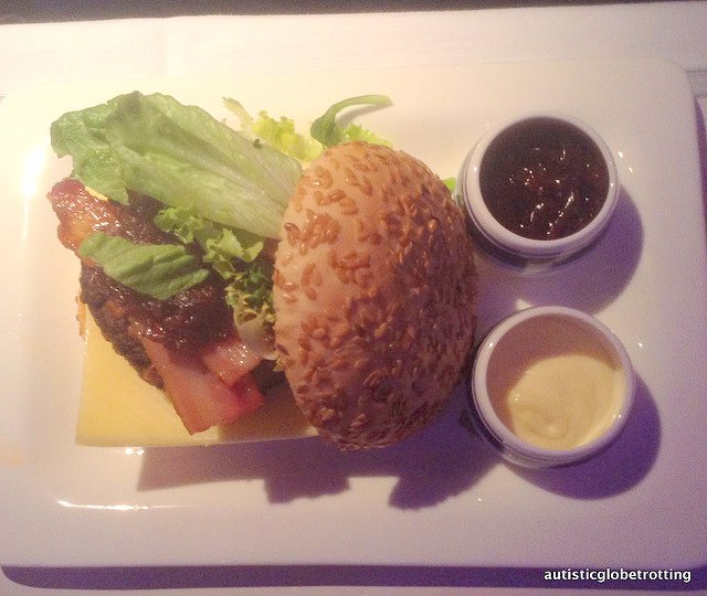 Business Class on Air New Zealand is Luxury Defined burger