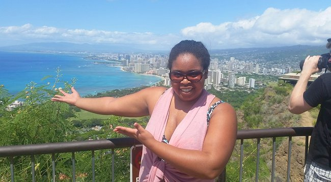 Q&A with Shalese Nicole Heard of Autistic Travel Goddess sea