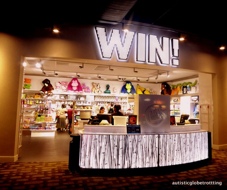 Stuck at LAX? Take the family to Dave and Buster's! win