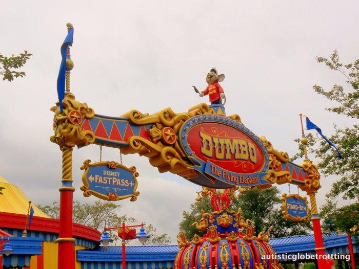Fourteen Tips For Preventing Sensory Meltdowns at Disney World dumbo