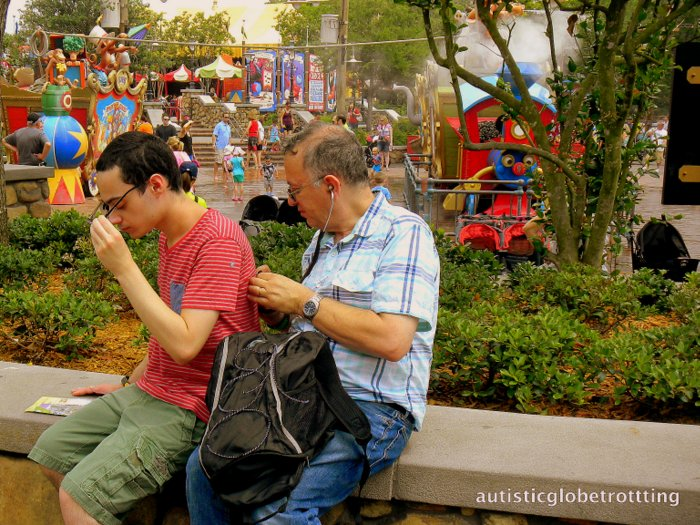 Clothing Tips When Taking Kids with Autism to Disney World rest