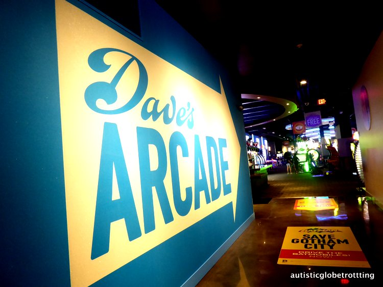 Stuck at LAX? Take the family to Dave and Busters! arcade