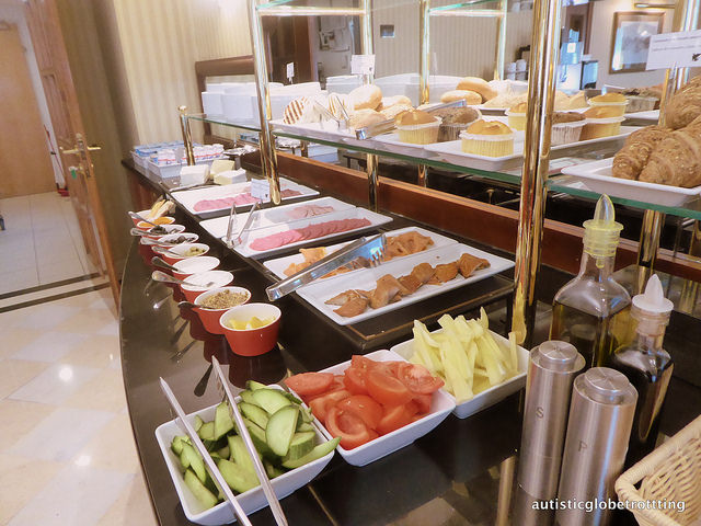 Review of The JW Marriott Bucharest Executive Lounge cold cuts