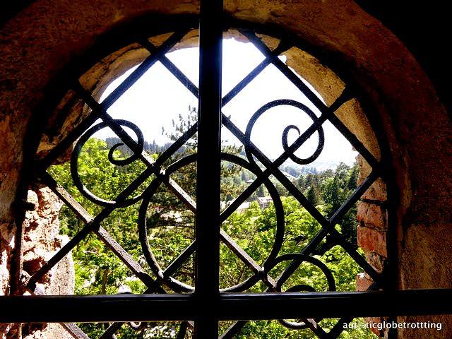 Taking the Kids to Dracula's Castle window