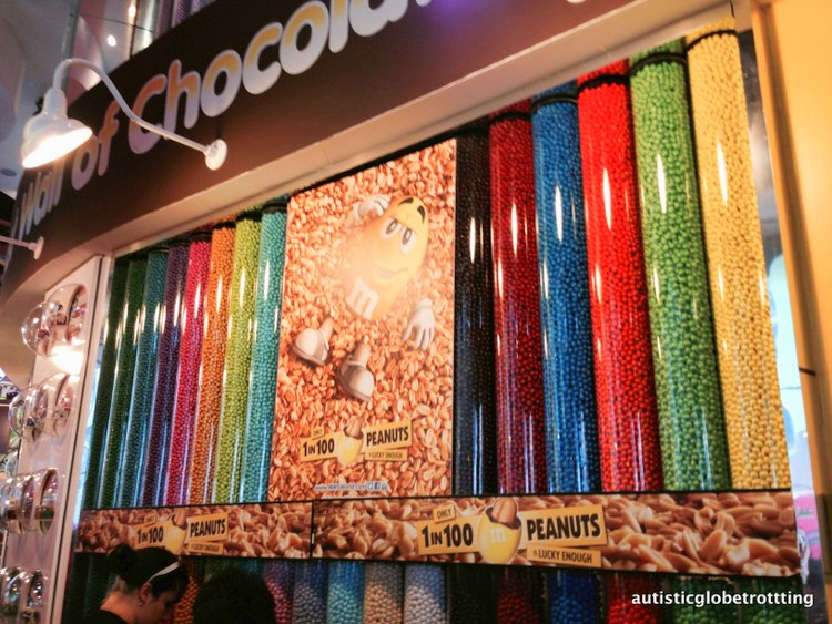 Top Five Kid Friendly Stores in NYC Times Square sweets
