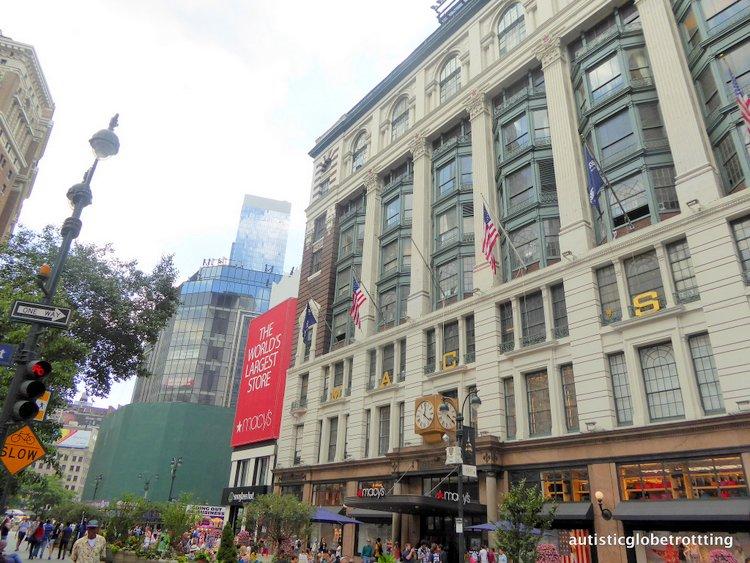 nyc shopping macy's