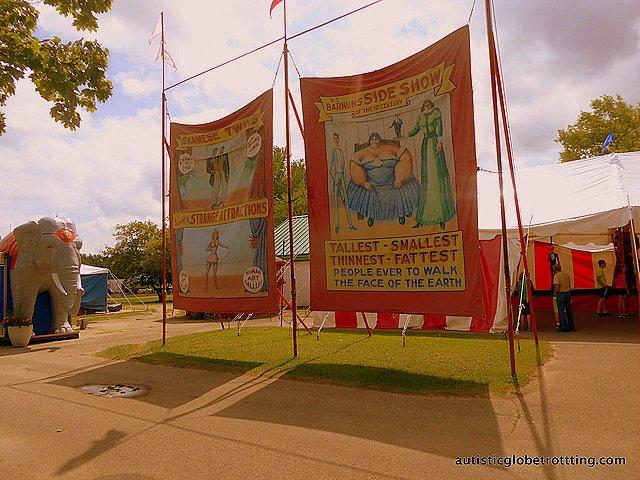 Family Fun at Baraboo's Circus World Museum post