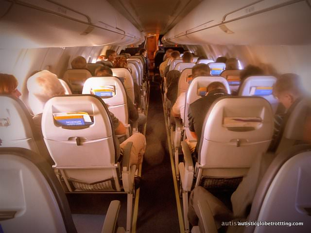 Top Ten Tips for Traveling with Autism plane seats