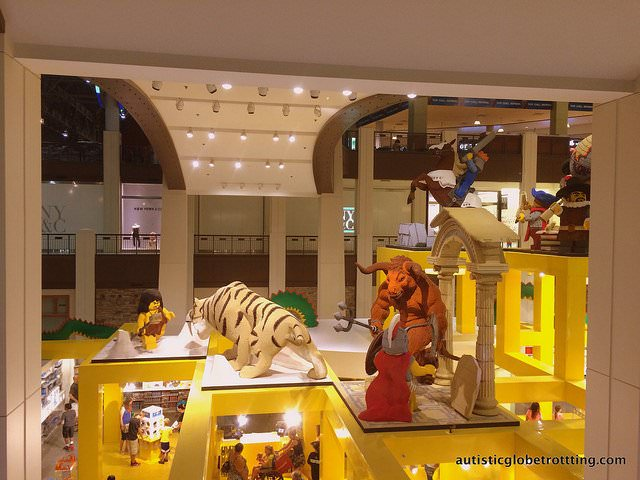 Taking your kids with Autism to the Mall of America lego store