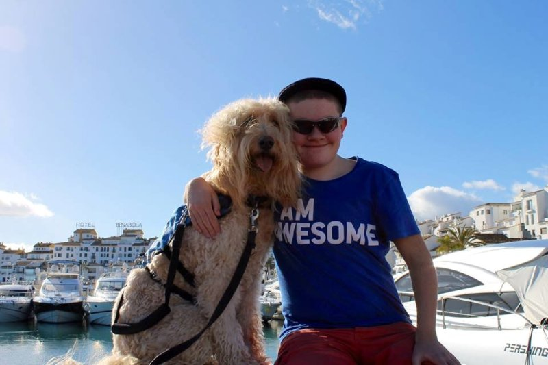 Q&A with Clive -Ireland's Autism Service Dog Extraordinaire friends