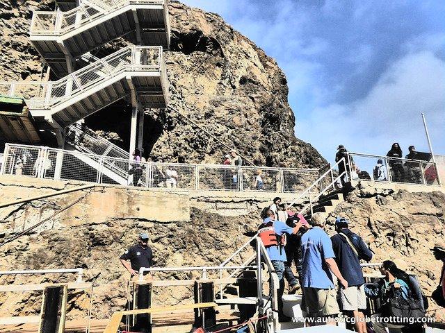 Family Fun on California's Channel Islands Cruise rock