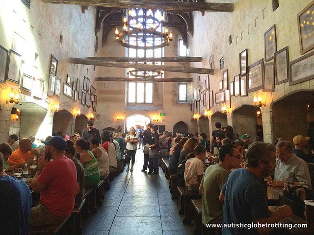 Navigating Universal Studios Orlando with Autism hall