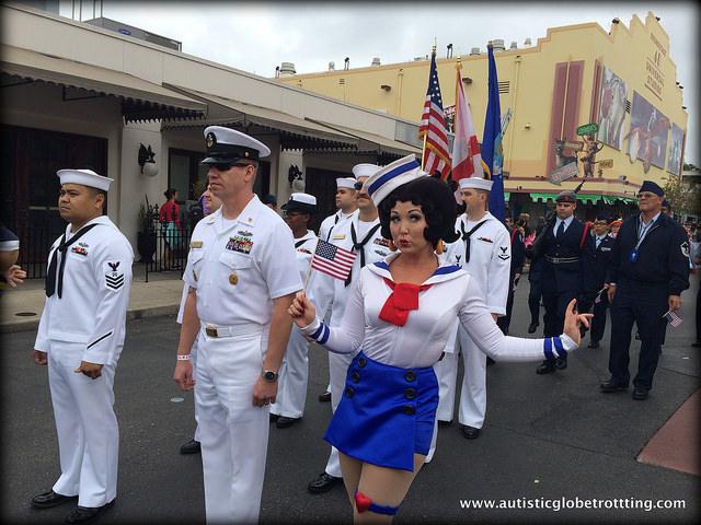 Navigating Universal Studios Orlando with Autism parade
