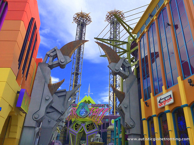 Navigating Universal Studios Orlando with Autism claws