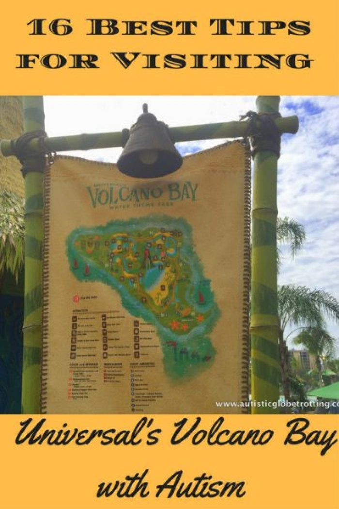 16 Best Tips for Visiting Universal's Volcano Bay with Autism pin