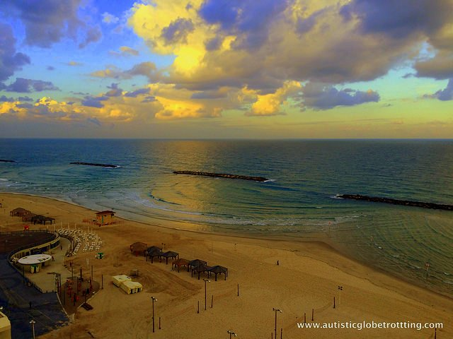Family Fun at the Crowne Plaza Tel Aviv Beach Hotel beach