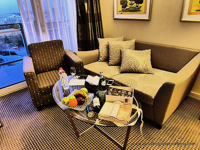 Luxury Family Stay at the Hilton Tel Aviv seating