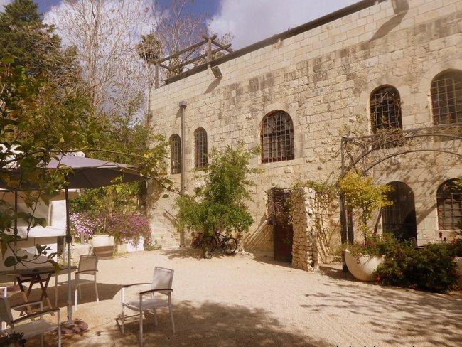 Exploring Jerusalem with Kids yard
