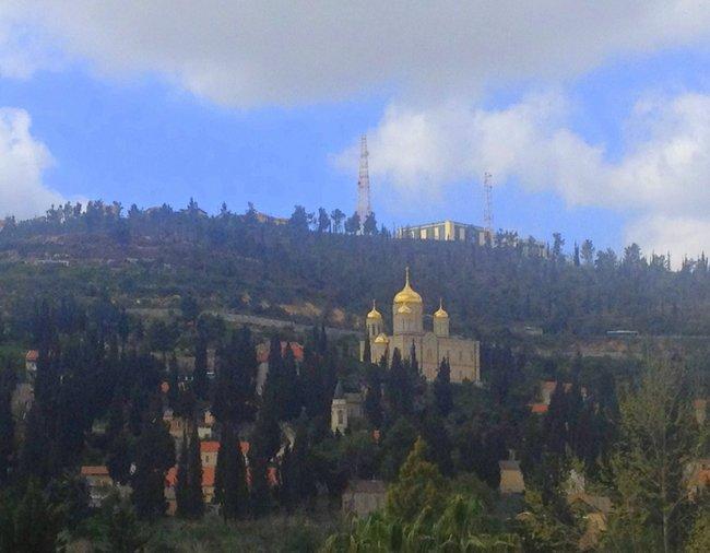 Exploring Jerusalem with Kids greek church