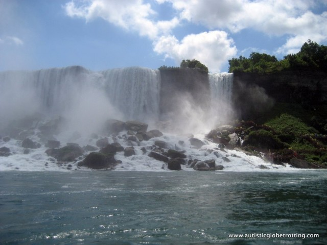 Five Activities at Niagara Falls for Families with Autism rock