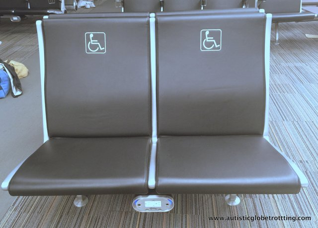 Pros and Cons of Wheelchair Assistance When Traveling With Autism chair