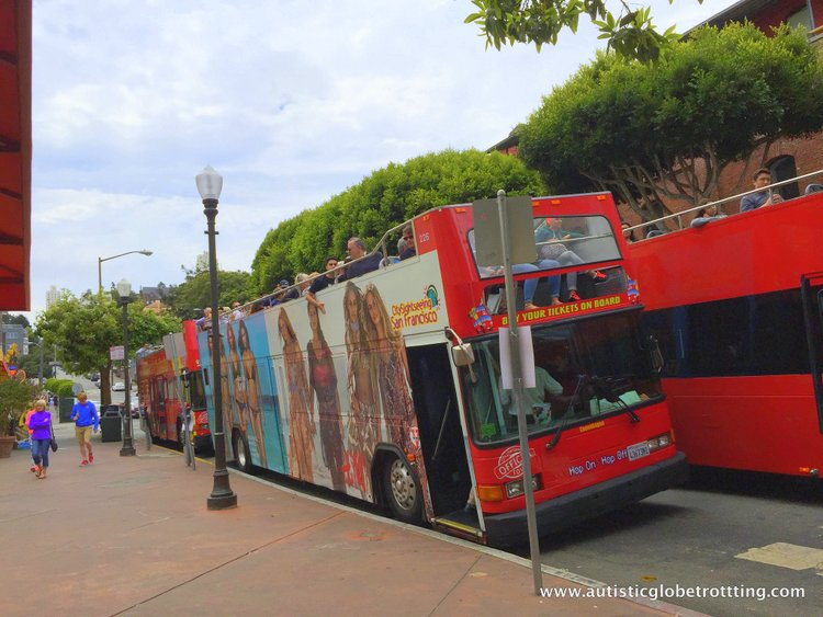 City Sightseeing with San Francisco's Hop On Hop Off Bus bus