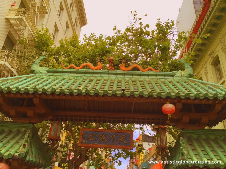 City Sightseeing with San Francisco's Hop On Hop Off Bus china town