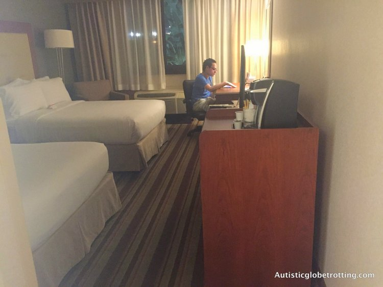 Our Family Stay at the Holiday Inn Buena Park jeff