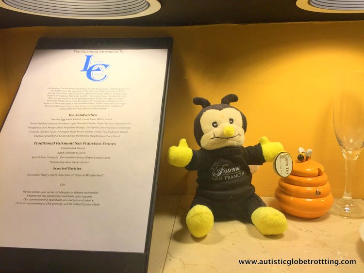 Family Stay at the Fairmont San Francisco Hotel bee