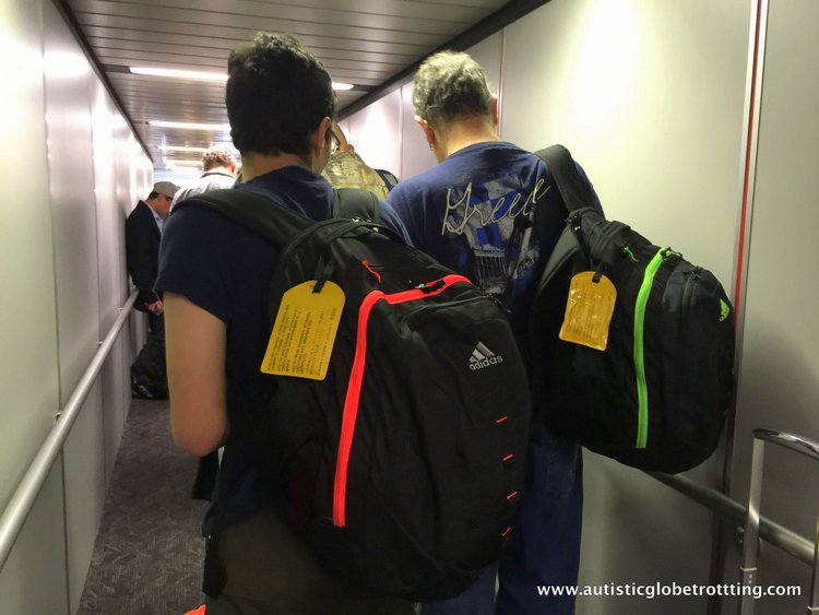 How the US Electronic Ban affects Traveling with Autism boarding