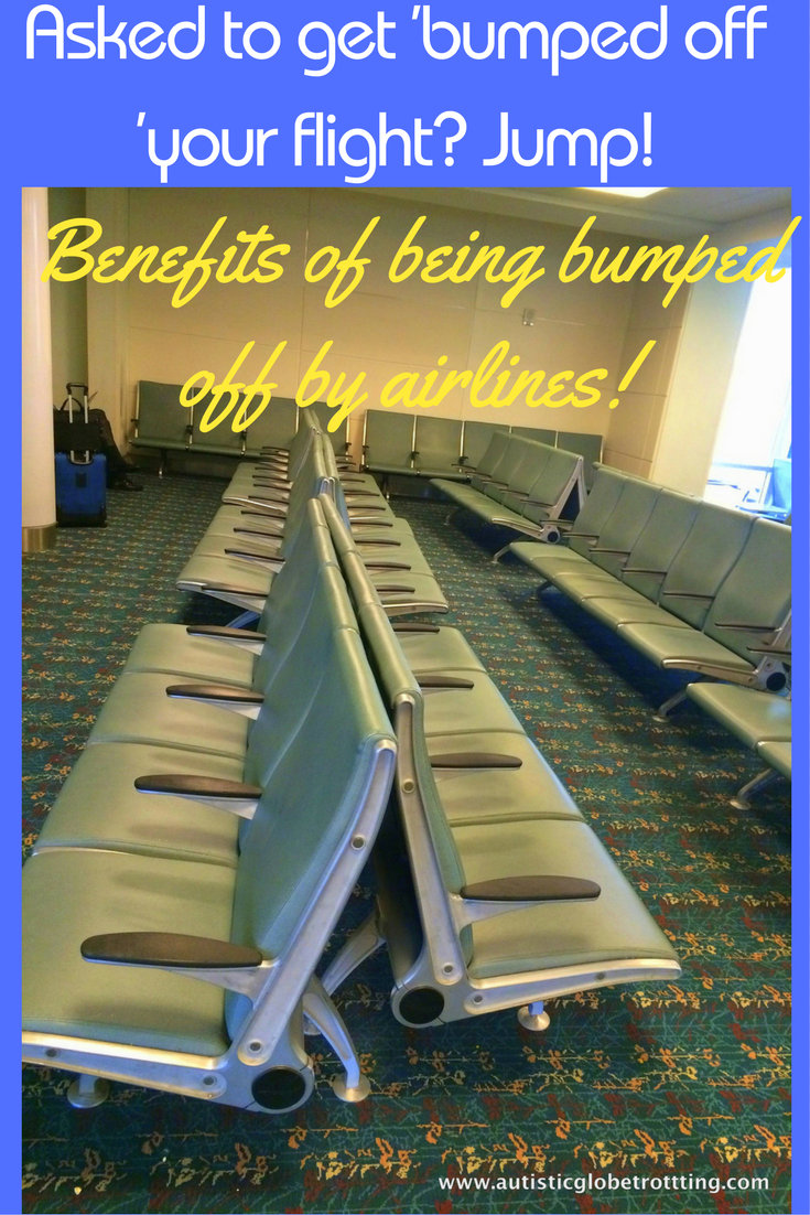 Asked to get 'bumped off 'your flight? Jump! pin