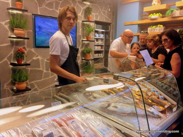 Exploring Tel Aviv's New Food Market Sarona with Family white