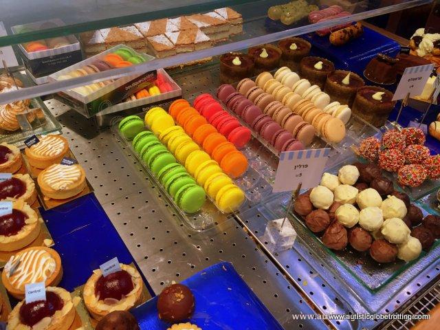 Exploring Tel Aviv's New Food Market Sarona with Family rainbow