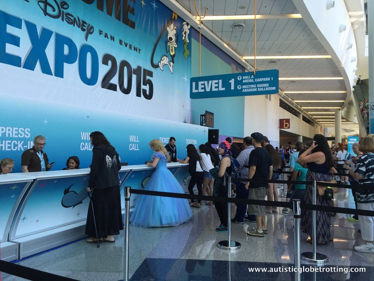 Tips and Quips to Survive the Disney D23 Expo tix