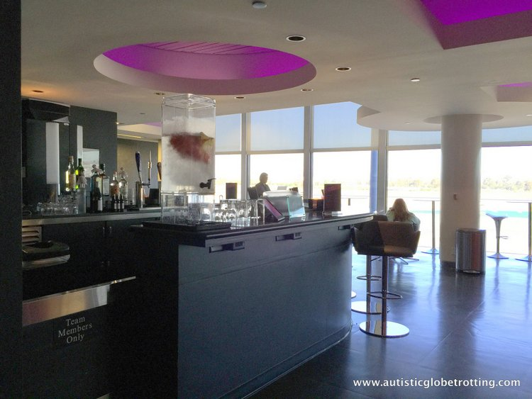 Flying Virgin America with Autism Lounge