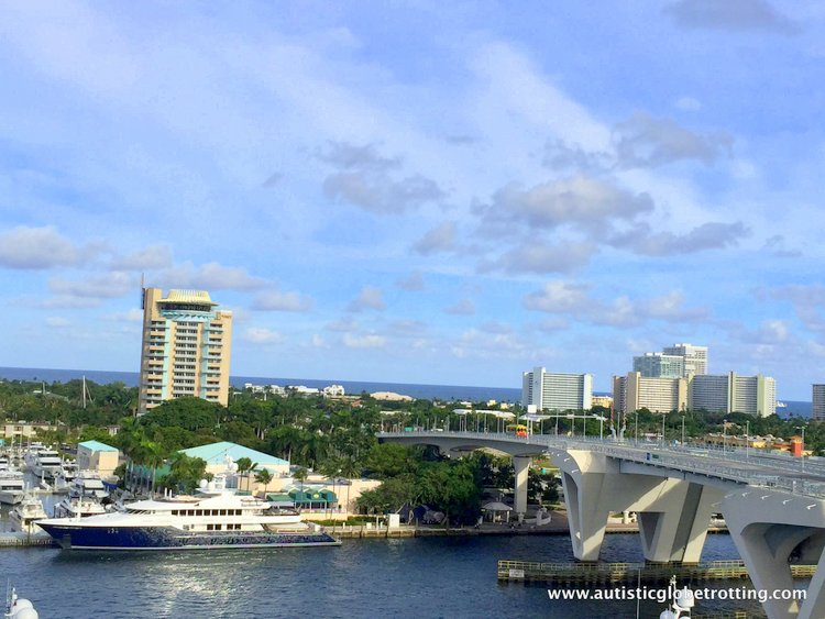 Staying with Family at Hilton Fort Lauderdale Marina cloud