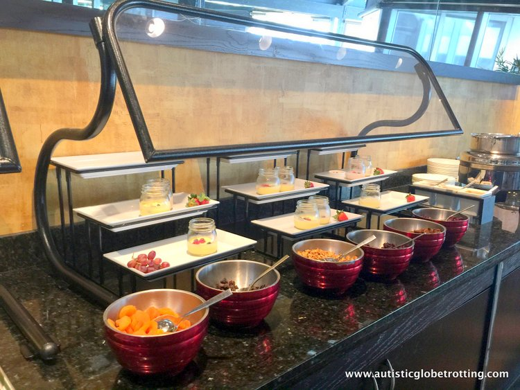 Staying with Family at Hilton Fort Lauderdale Marina food