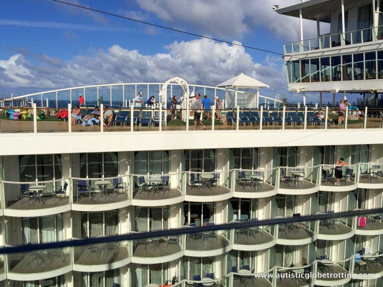 Cruising Oasis of the Seas with Autism deck