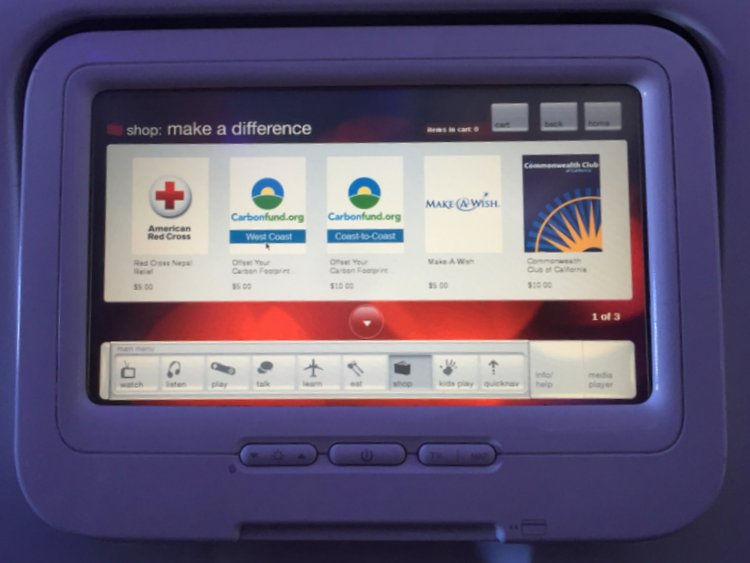Flying Virgin America with Autism Charity