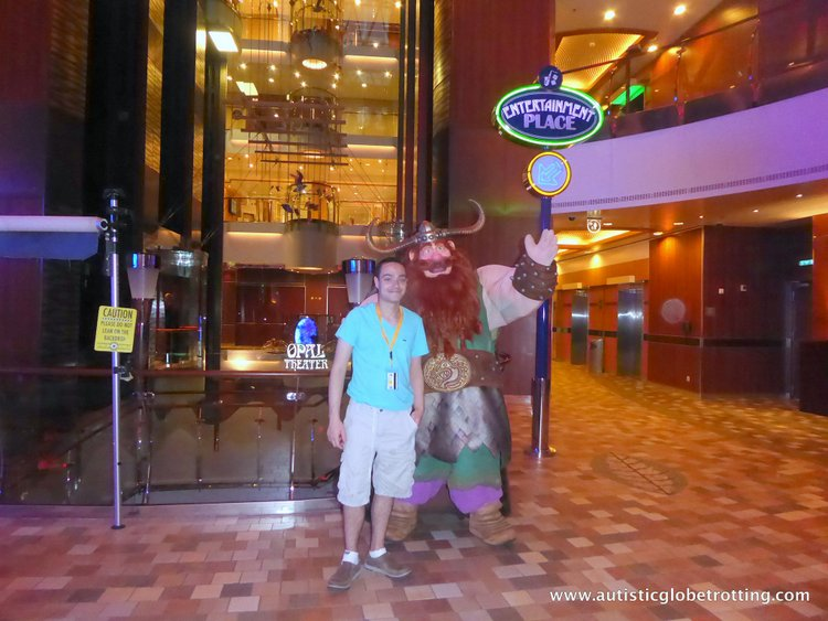 Cruising Oasis of the Seas with Autism jeff