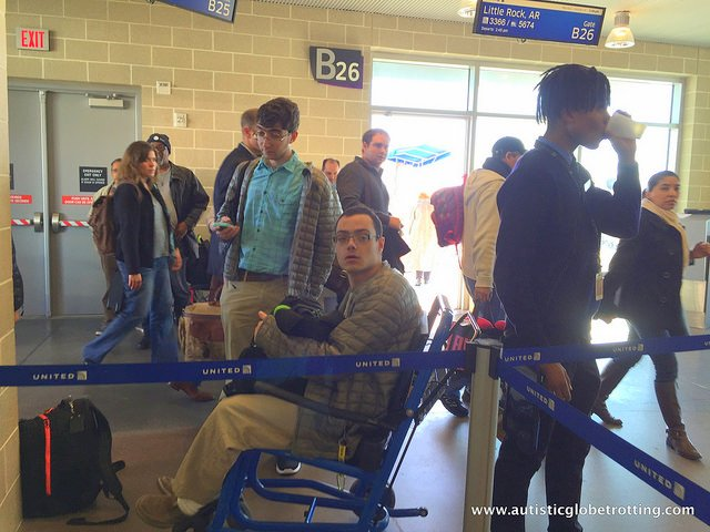 Nine ways to accommodate kids with autism while flying wheelchair