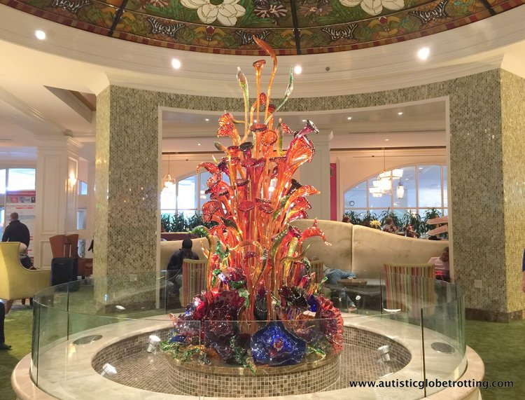 Christmas Stay at the Gaylord Opryland Hotel tree