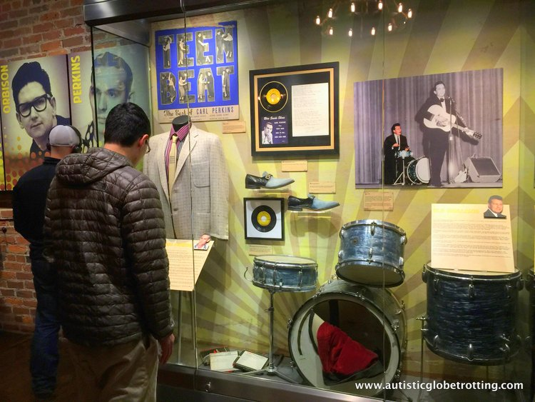the Johnny Cash Museum stage clothes