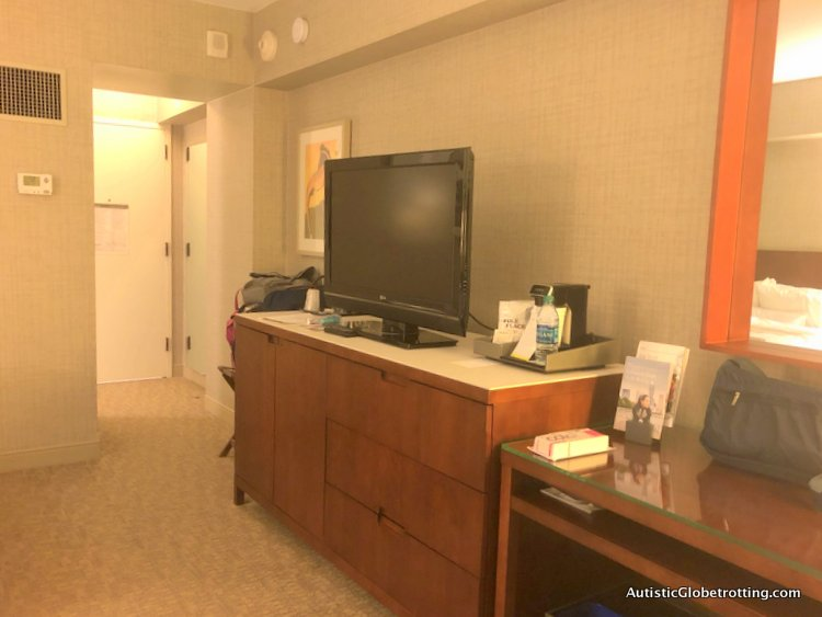 Our Family Friendly stay at the Westin San Francisco Airport Hotel dresser