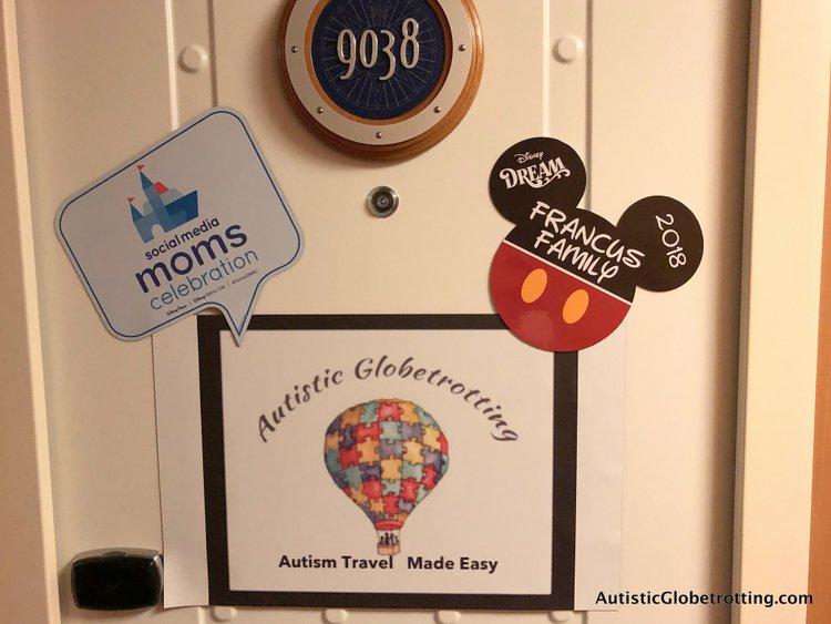 Is aDisney Dream Deluxe Family Oceanview Stateroom worth the splurge? our door magnets