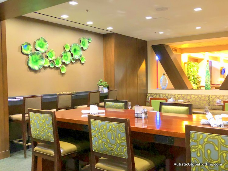 Our Family Friendly stay at the Westin San Francisco Airport Hotel restauant