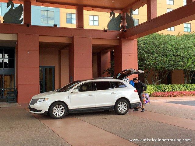 Family Friendly Stay at the Walt Disney World Swan Hotel outside
