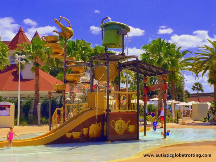 Our Family Stay at Disney's Grand Floridian playground